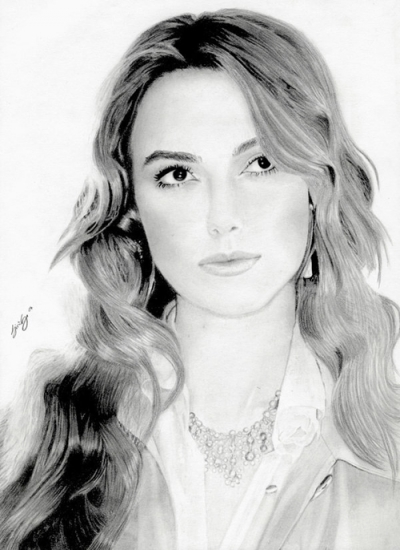 Keira Knightley by foudroyant